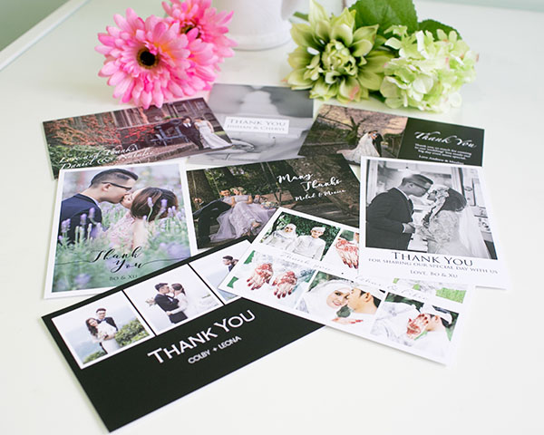 Customized Thank You and Invitation Postcards